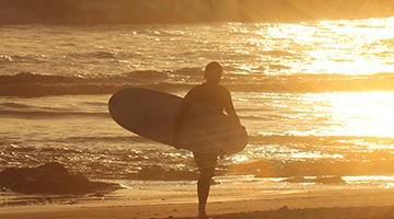 Paddle Surf a l'alba