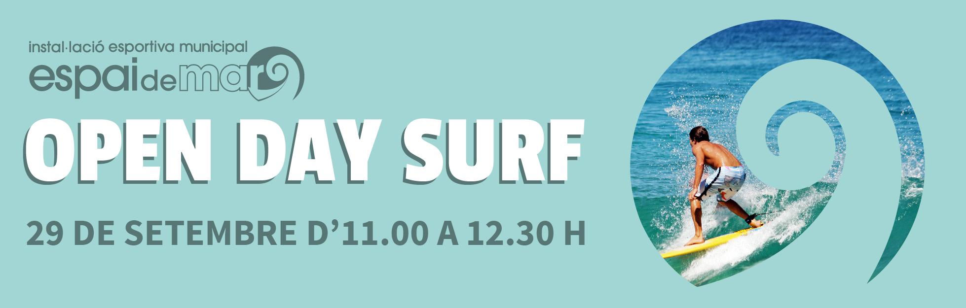 OPEN DAY SURF header