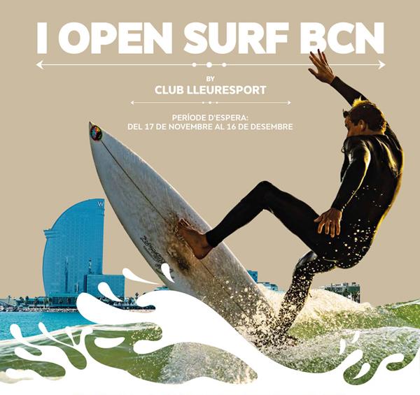 1º Open Surf Barcelona