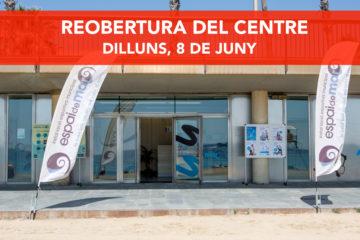 REOBERTURA DEL CENTRE, 8 de juny